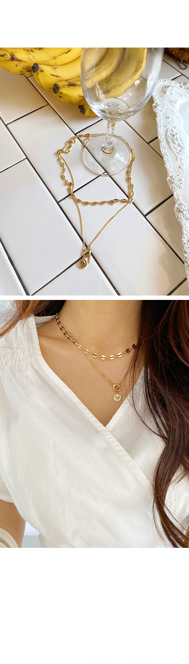 Tenmo pearl necklace